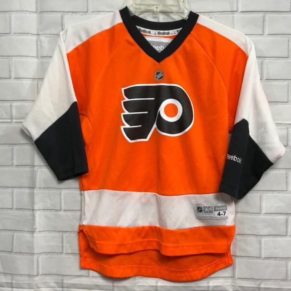 226064685 NHL Reebok Philadelphia Flyers Jersey. M 5b96a7249539f7826cd5f33f